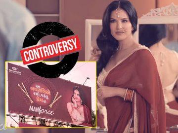 Sunny Leone Navarati Ad controversy