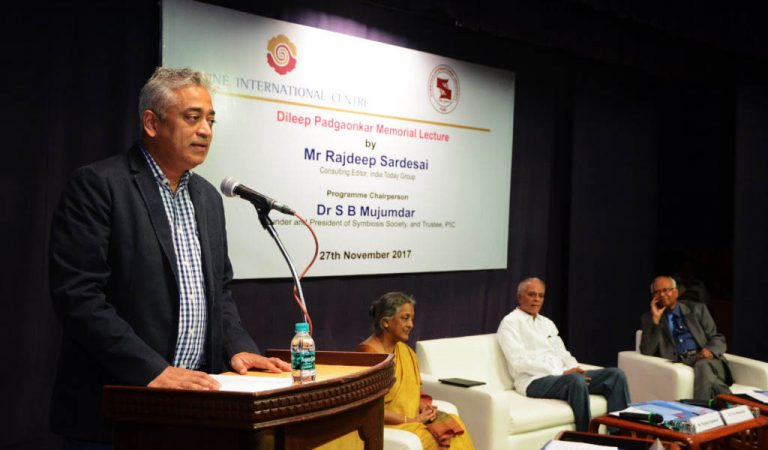 Dear Rajdeep, please practice what you preached in your Pune lecture
