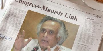 Jairam Ramesh Congress Maoist link