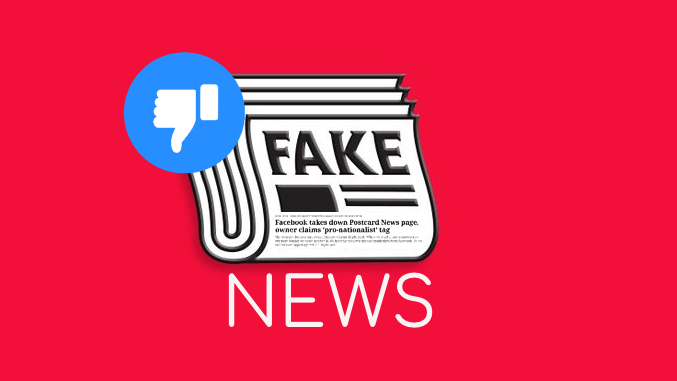 Deletion of Post Card's FB page is a stern message to RW fake news sites!