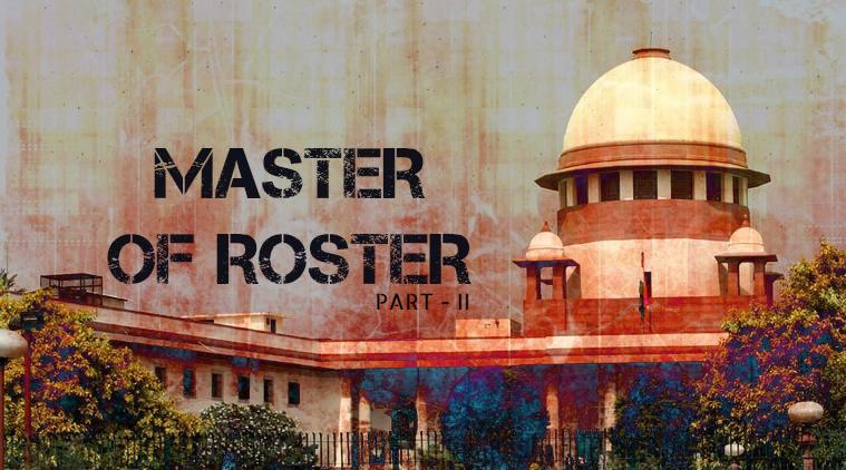 The Major Judicial Pronouncements for 'Master of Roster'