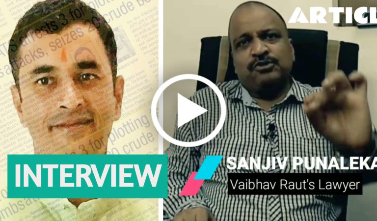 'Will fight case even if innocent Muslim's implicated but none to rise for Hindus,' says Sanatan's Sanjiv Punalekar