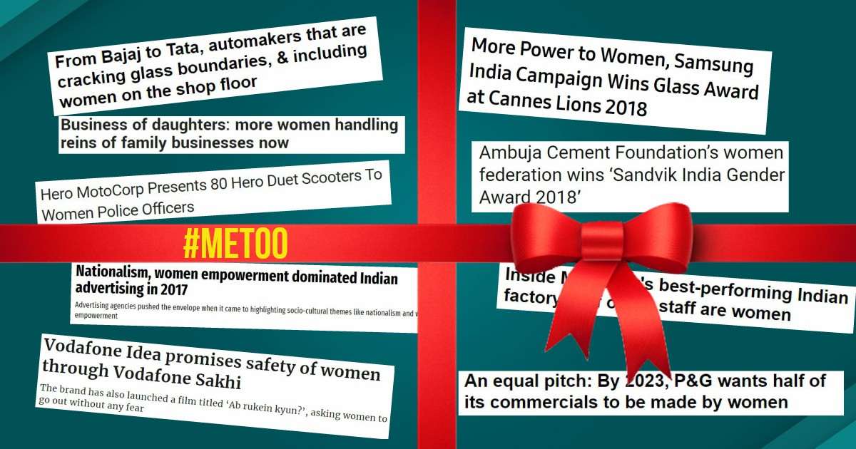 India Inc: 'Women Empowerment' is front page brand buzz whereas measures against sexual harassment report into corners