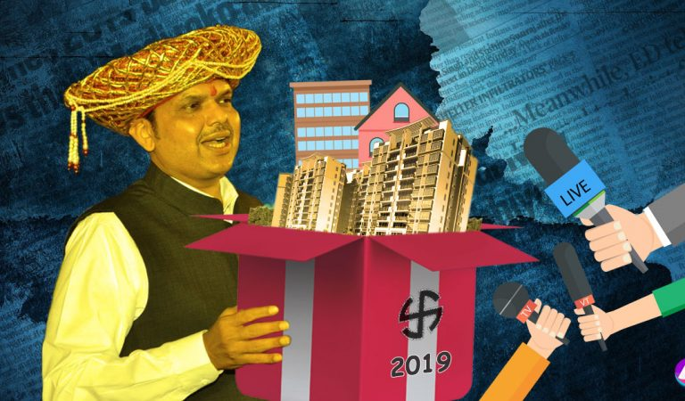 Fadnavis Govt favors journalists by offering public houses at Prime location inMumbai