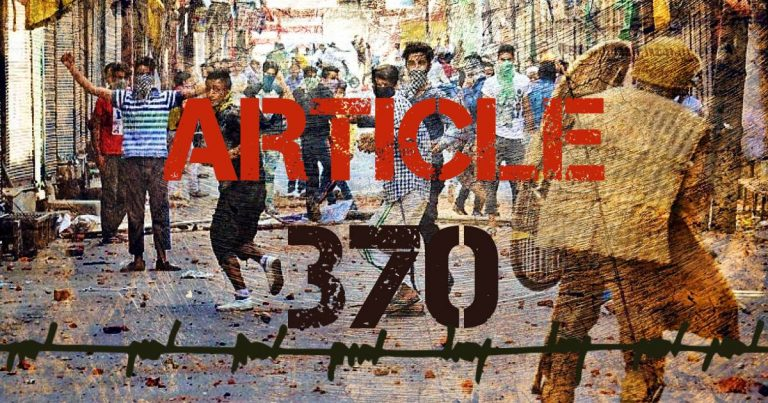 Article 370 abrogation